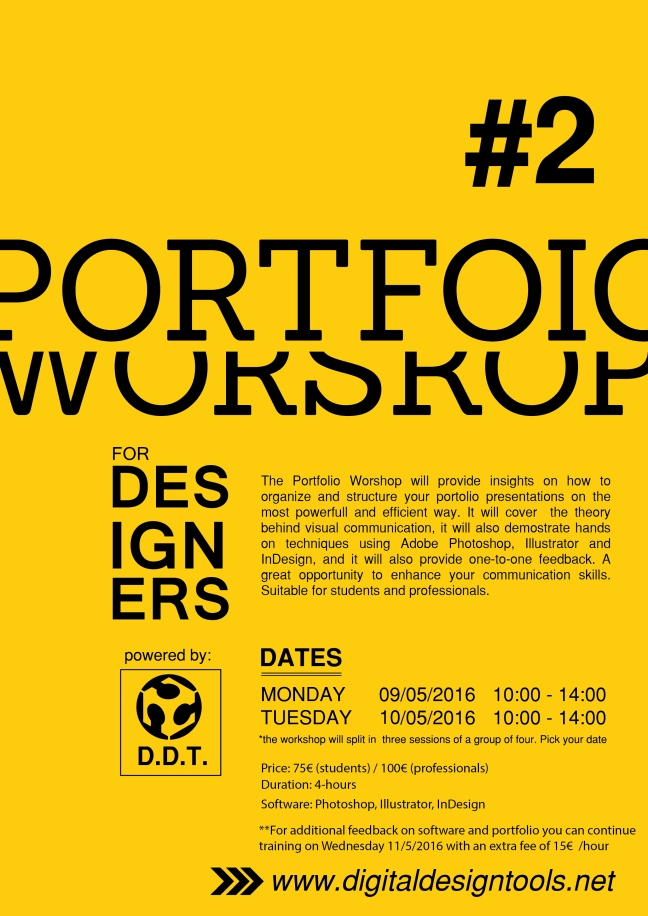 PORTFOLIO WORKSHOP II